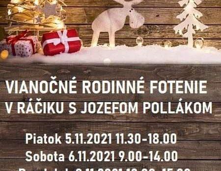 Vianočné rodinné fotenie v Ráčiku s Jozefom Pollákom ❄️🌲🎄🎁📷